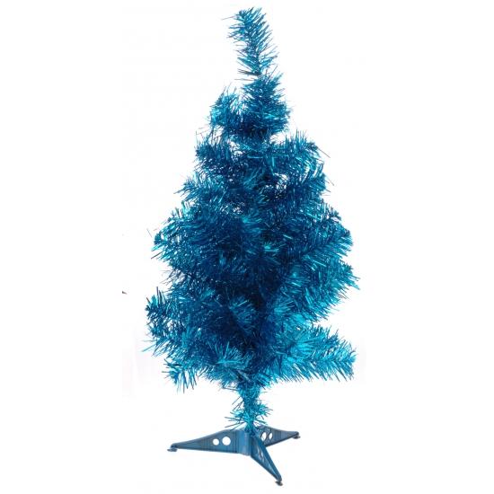 Blauwe kerstboom 50 cm