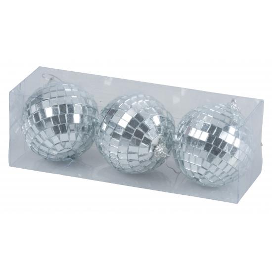 Kerst discoballen 7 cm