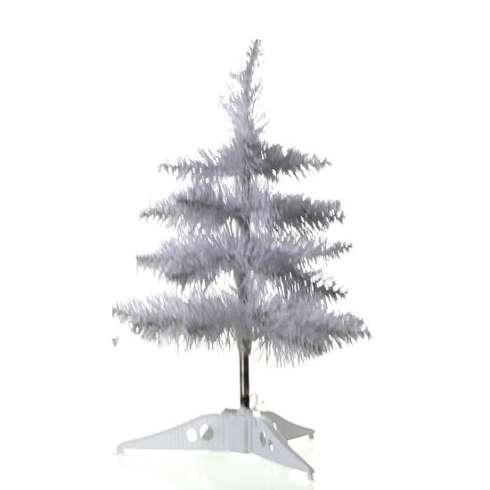Kerst Witte decoratie kerstboom 40 cm