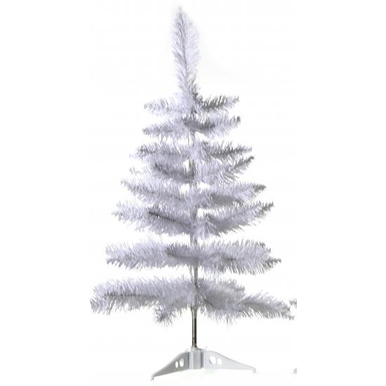 Kerst Witte decoratie kerstboom 60 cm