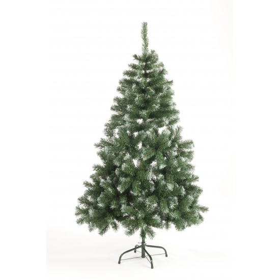 Kunst kerstboom Abies 180 cm white tops