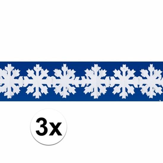 3x sneeuw slinger 3 meter