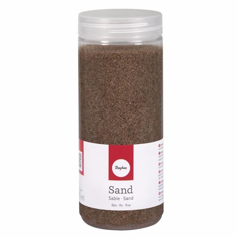 Fijn decoratie zand bruin