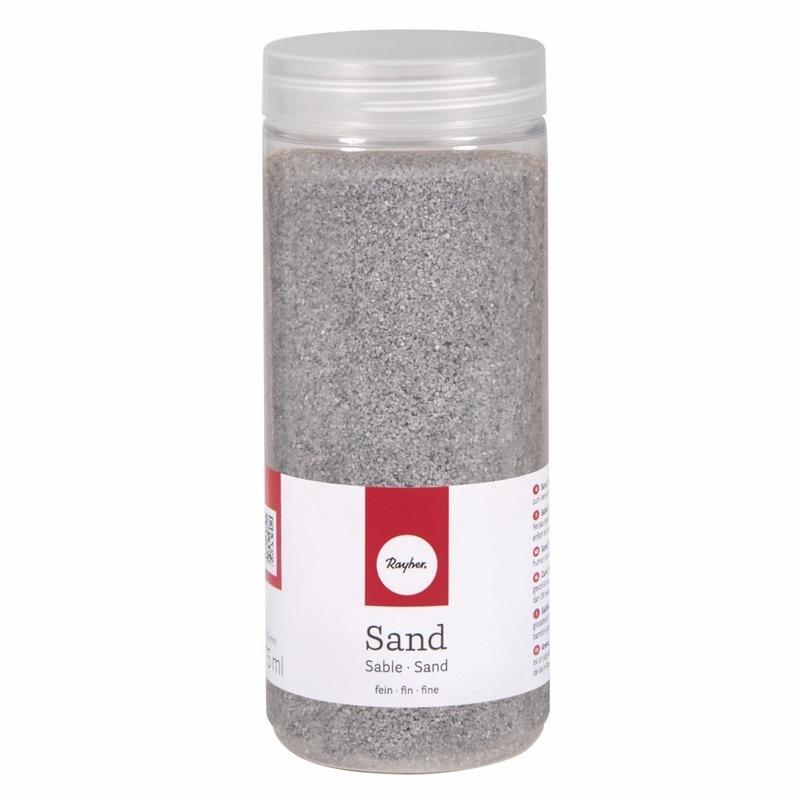 Fijn decoratie zand zilver