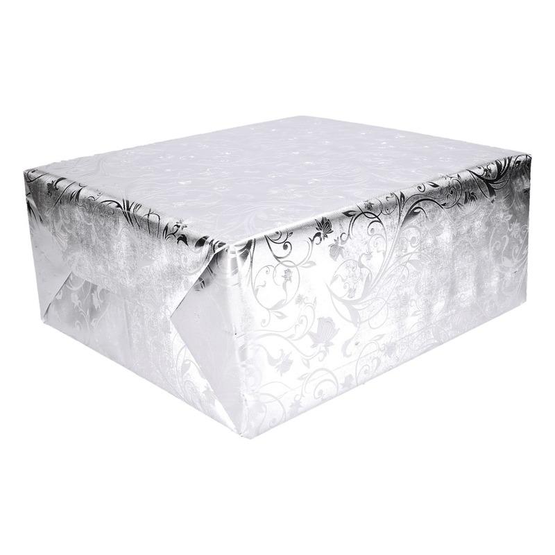 Luxe kerst inpakpapier 500 x 76 cm op rol