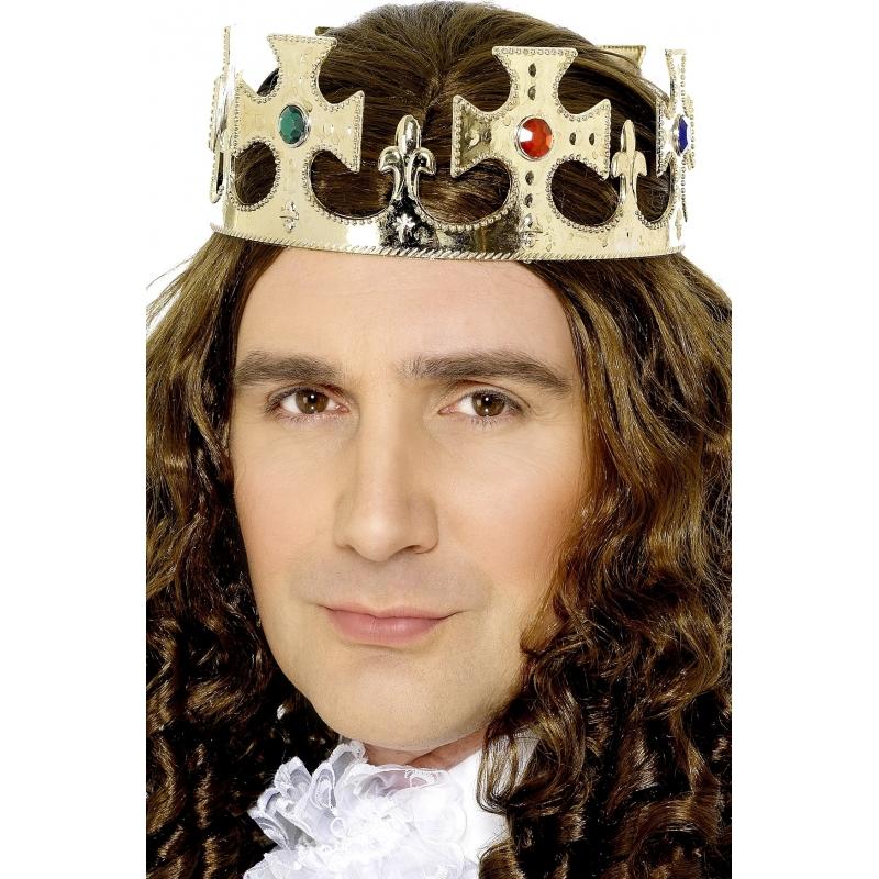 Prinsen kroon goud voor volwassenen