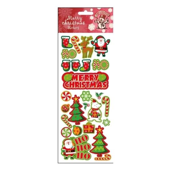 Stickervel Kerst thema
