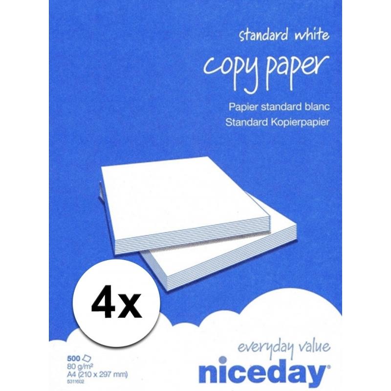 Voordelig wit A4 papier 2000 vellen