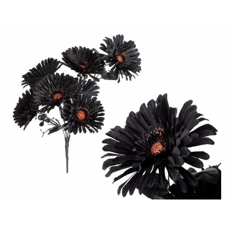 Zwarte kunstbloemen boeket voor kerst bestellen, Kerst decoratie ...