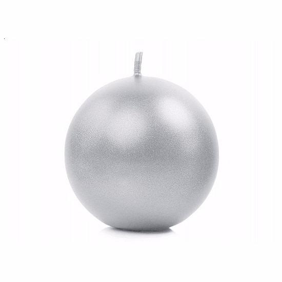 Bolkaars zilver 8 cm