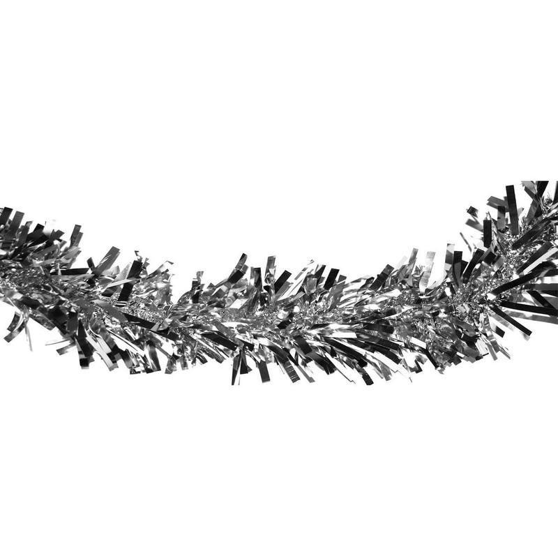 Draaislingers zilver folie