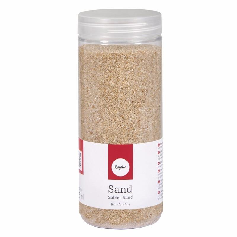 Fijn decoratie zand creme 475 ml