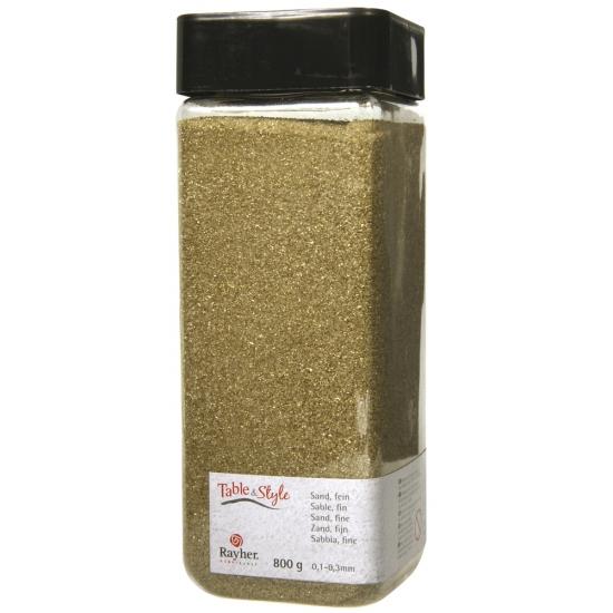 Fijn decoratie zand goud 475 ml