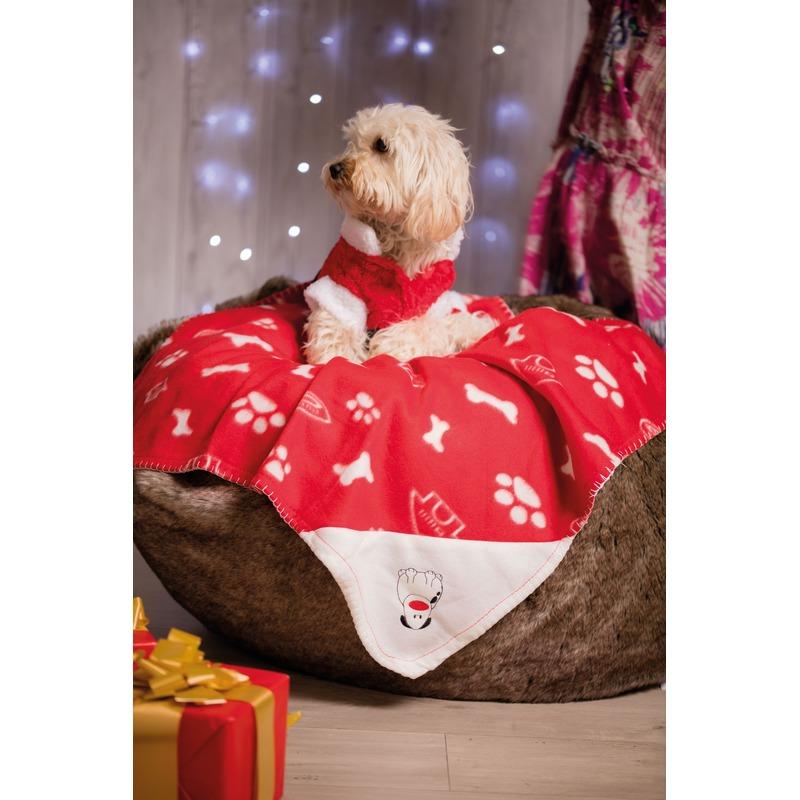 Fleece dekentje voor honden