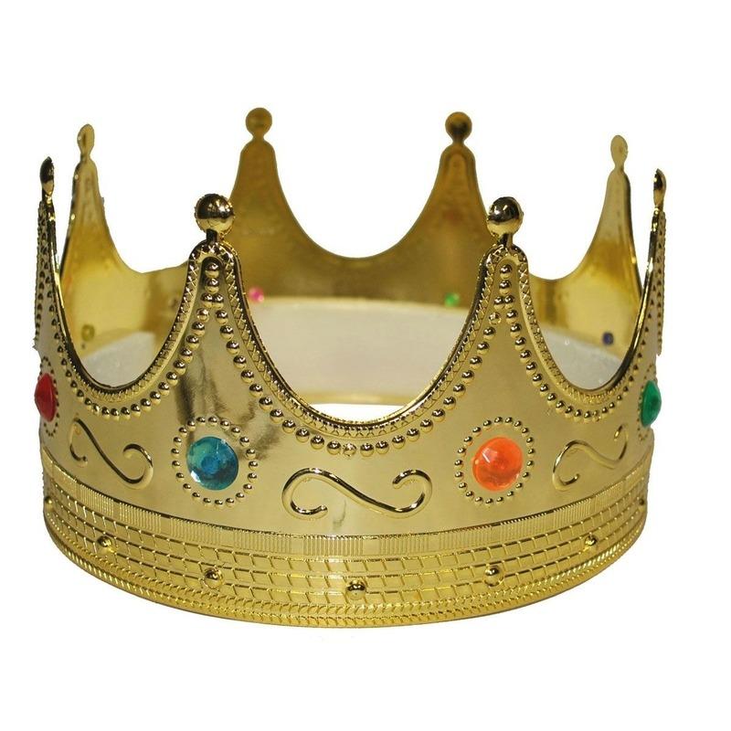 Gouden koningskroon volwassenen