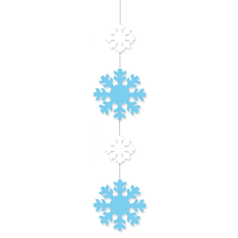 Hangdecoratie sneeuwvlok