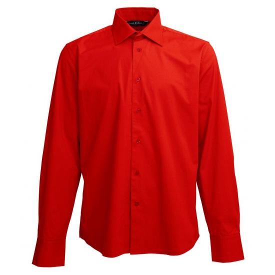Kerst Overhemd.Heren Overhemd Rood Voor Kerst Bestellen Kerst Decoratie Winkel Met