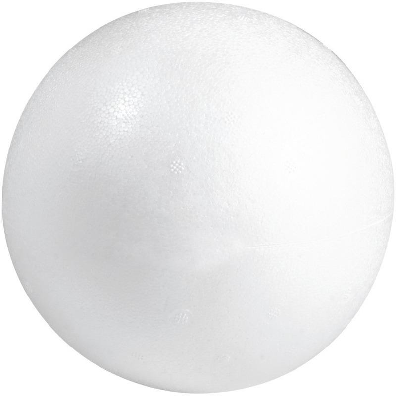 Hobby/diy piepschuim ballen/bollen 7 cm