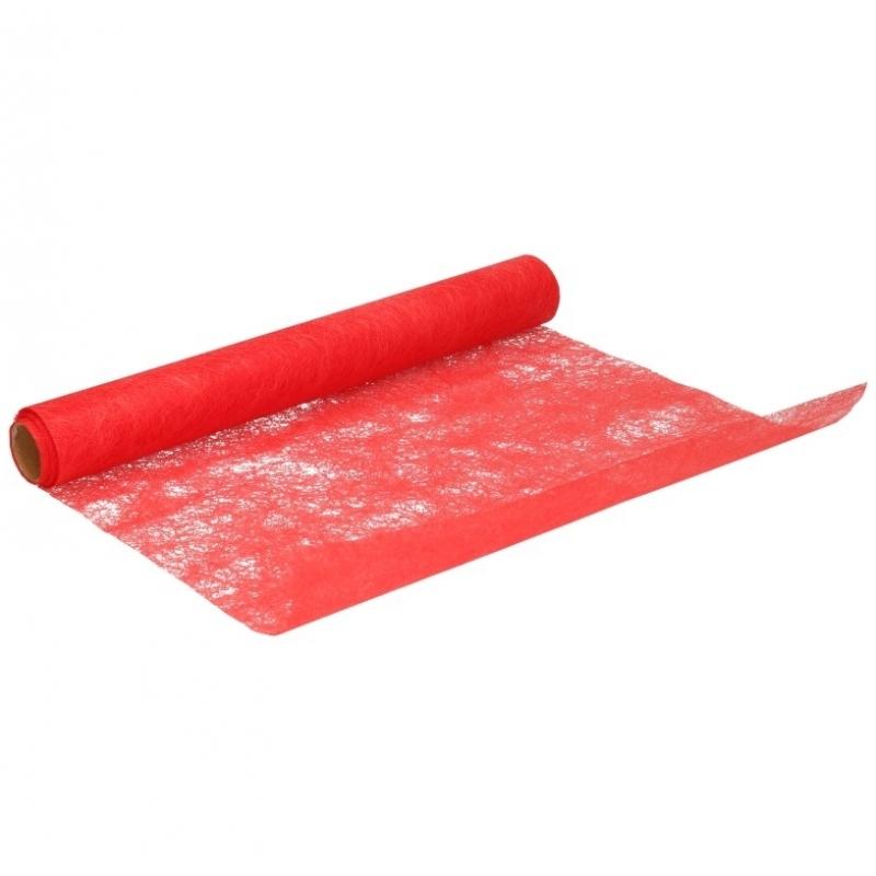 Hobby stof op rol rood 5 meter