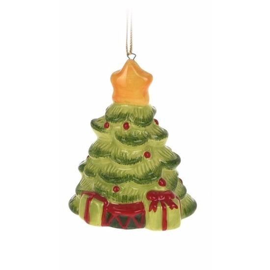 Kerstboom decoratie kerstboom hanger 5 cm