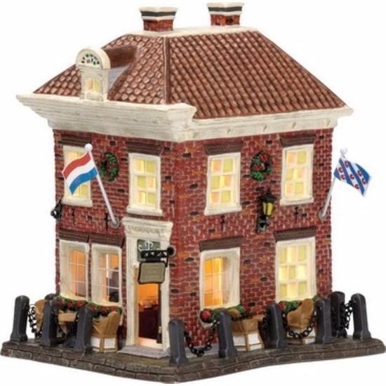 Kerstdorp Sloten restaurant Bolwerk