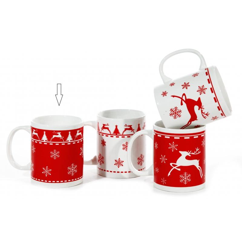 Kerstmok rood type 1
