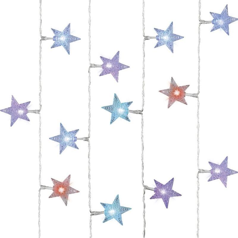 Kerstverlichting Gekleurde Sterren 30 Lampjes Voor Kerst Bestellen