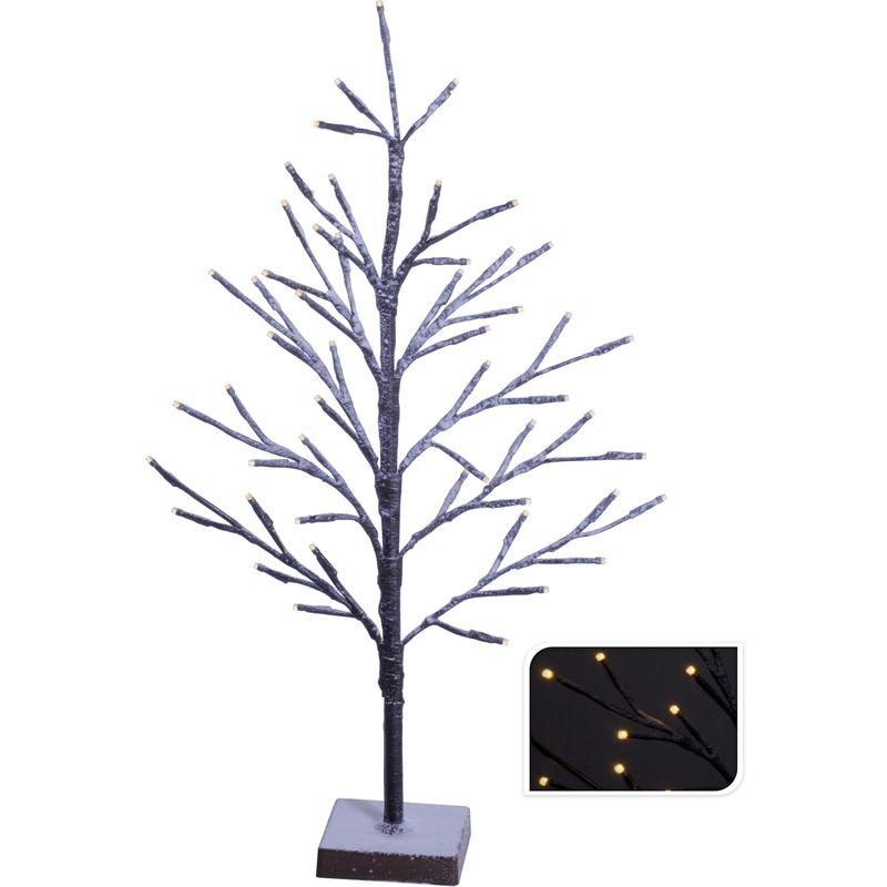 Kunst kerstboom warm wit 51 LED 50 cm