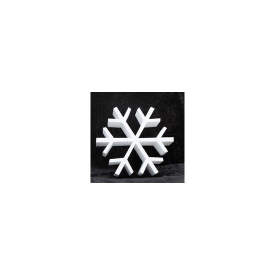 Piepschuim vorm ijskristal 30 cm