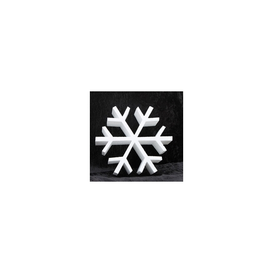 Piepschuim vorm ijskristal 40 cm