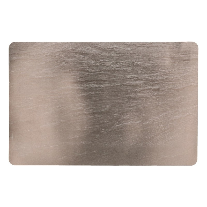 Placemats leisteen look 44 x 29 cm