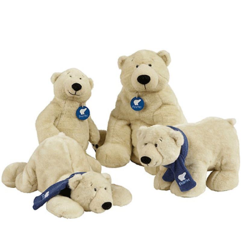 Pluche knuffel ijsbeer 41 cm
