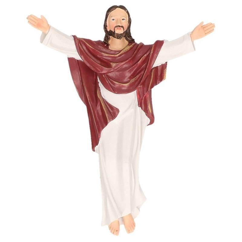 Religieuze beelden hangend kruisbeeld Jezus