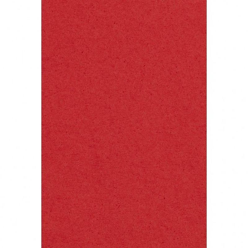 Rood papieren tafelkleed 137 x 274 cm