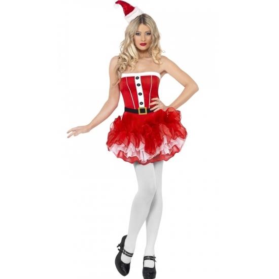 34d8b005df5f1f Rood tutu kerstjurkje voor dames voor kerst bestellen