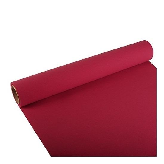Tafelloper bordeaux rood 300 x 40 cm papier