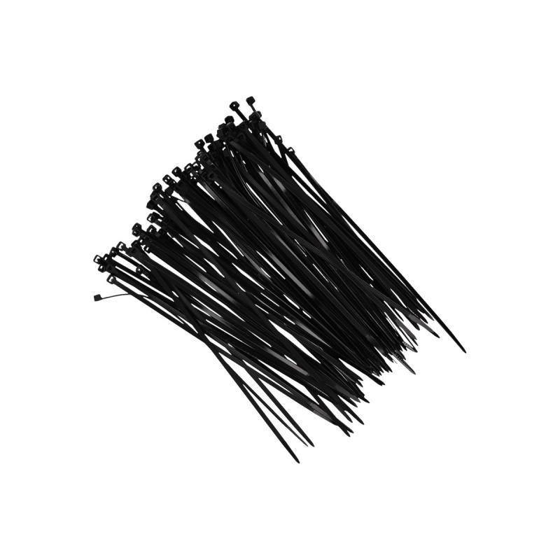 Tie-wraps zwart 18 cm 100 stuks