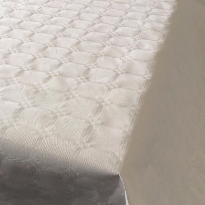 Wit papieren tafellaken/tafelkleed 800 x 118 cm op rol
