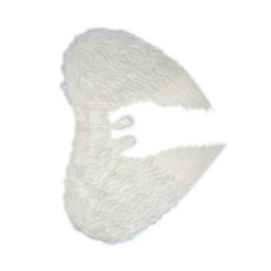 Witte veren engelenvleugels voor dames
